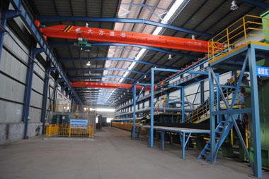 新垂直自动造型线 New vertical molding line